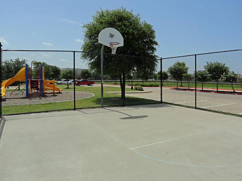 Basket Court | Greens of Hickory Trails