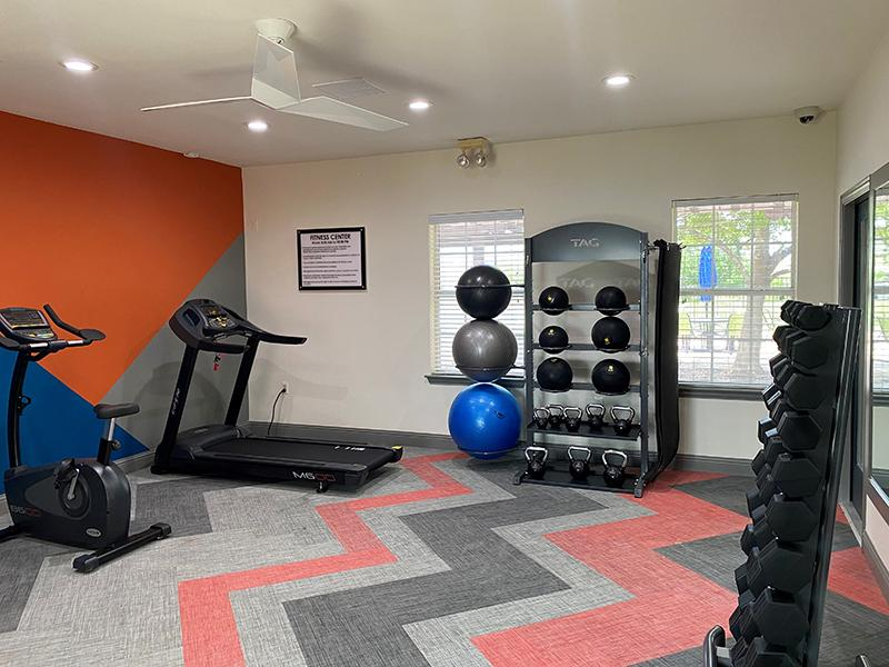 Fitness Center   Greens of Hickory Trails