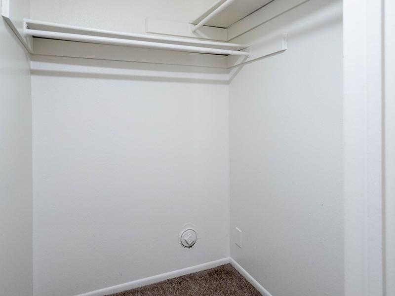 Closet Space | Hidden Pointe Apartments in West Valley City, UT