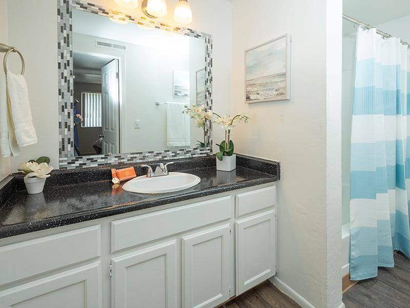 Bathroom | Hidden Pointe Apartments in West Valley City, UT