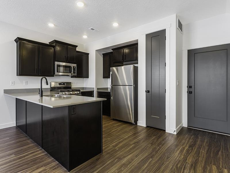 Fully Equipped Kitchen | Holbrook Townhomes in Lehi, UT