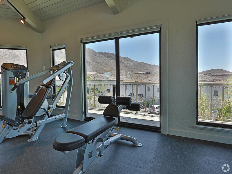 Kings Hill Apartment's Gym   El Paso, TX