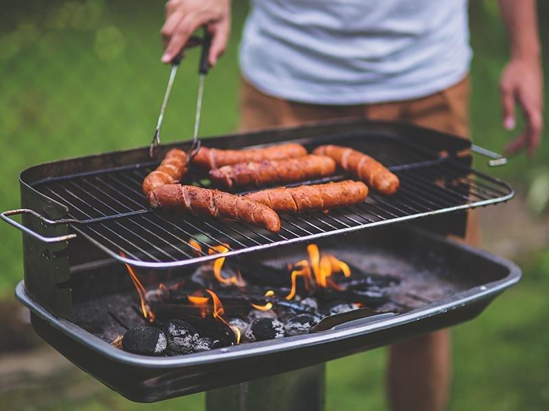 BBQ Area   La Vida at Sienna Hills