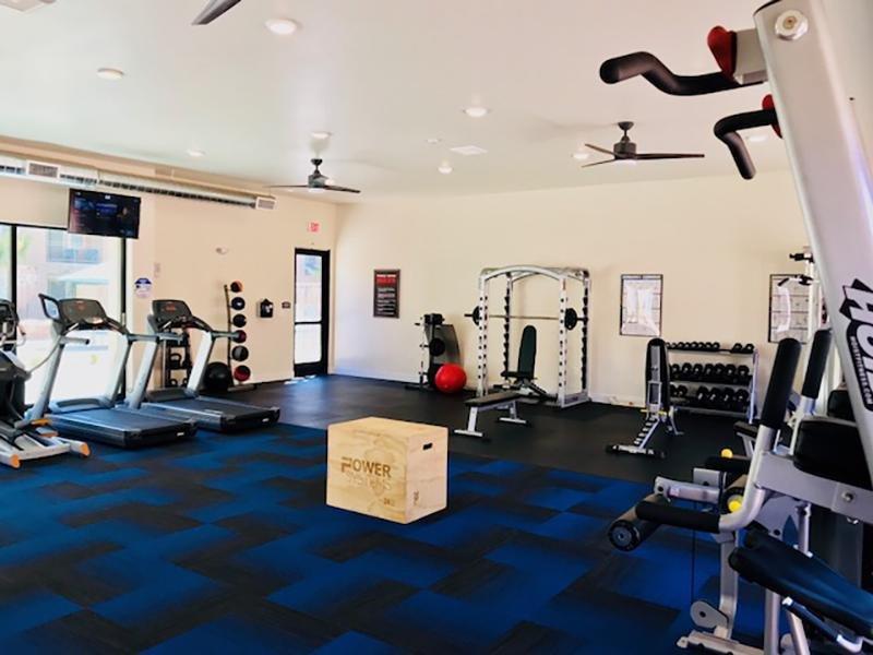 Gym | Legacy Ridge Apartments