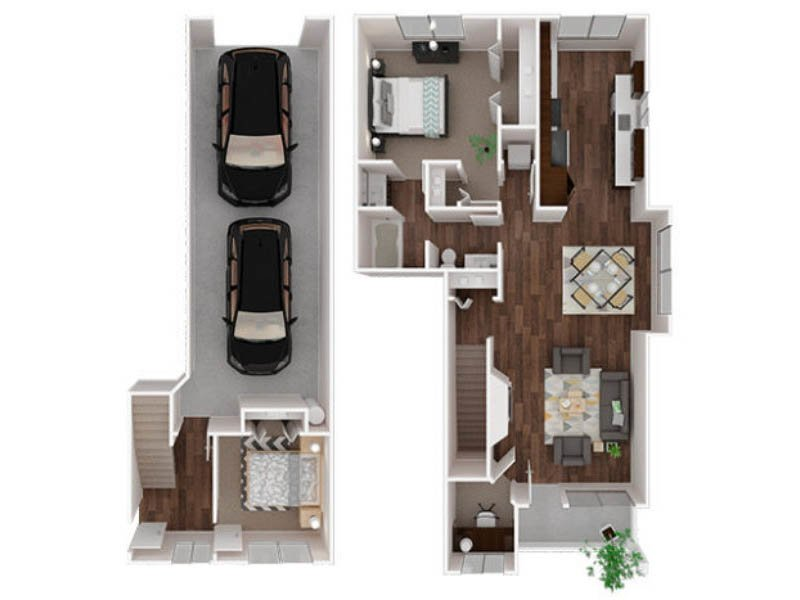 Our Emmons is a 2 Bedroom, 1 Bathroom Apartment