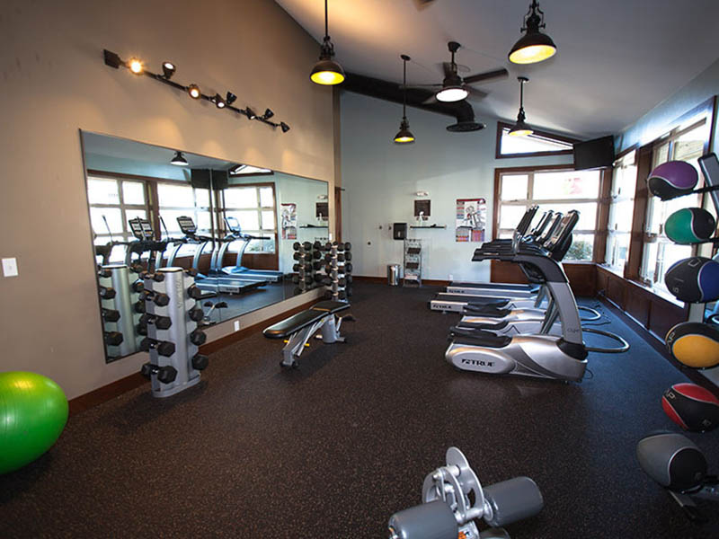 Gym | The Outlook Apartments in Graham, WA