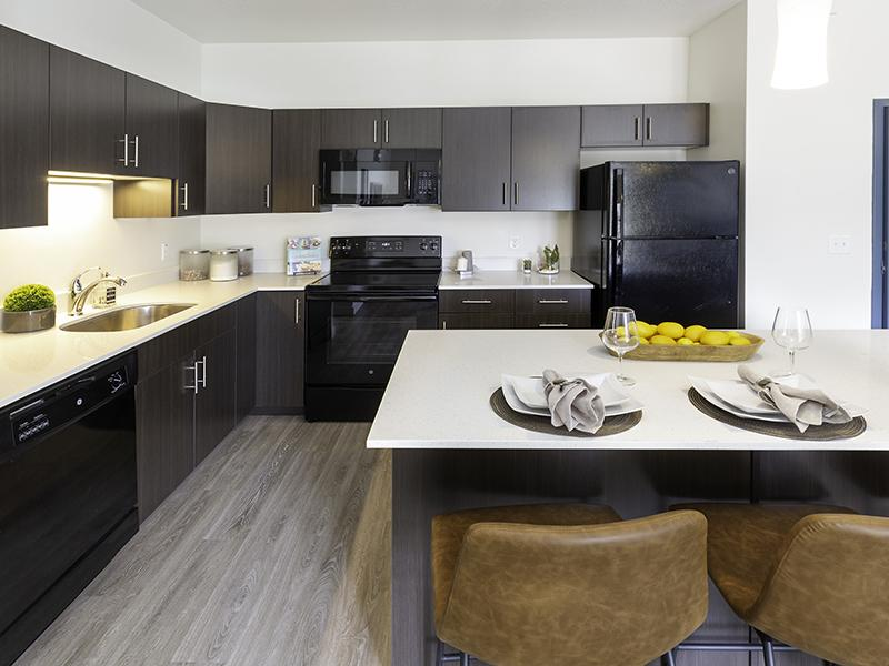Dining & Kitchen | Paxton 365 Apartments