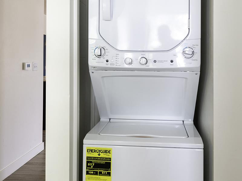 Washer & Dryer | Paxton 365 Apartments