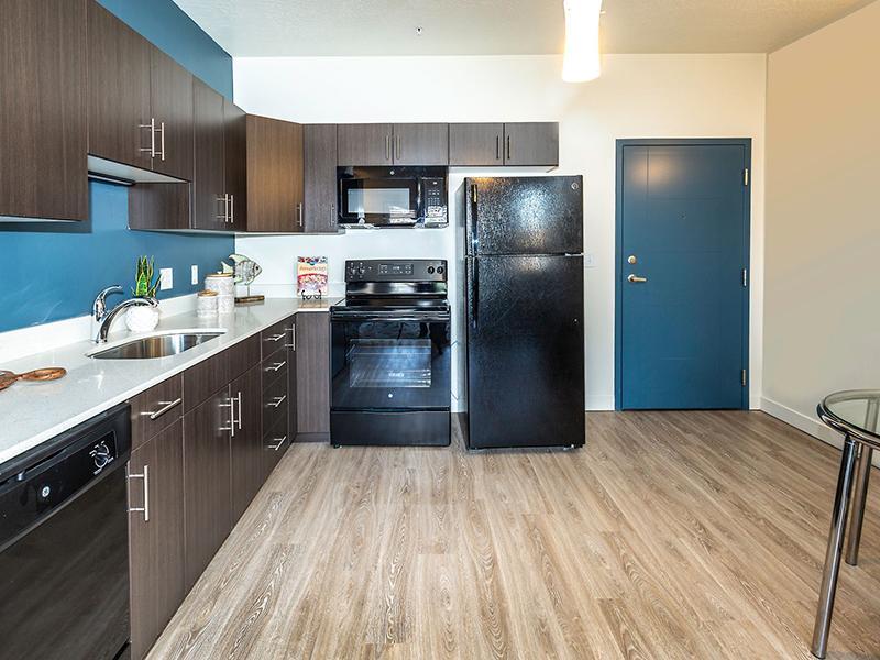 Kitchen | Paxton 365 Apartments