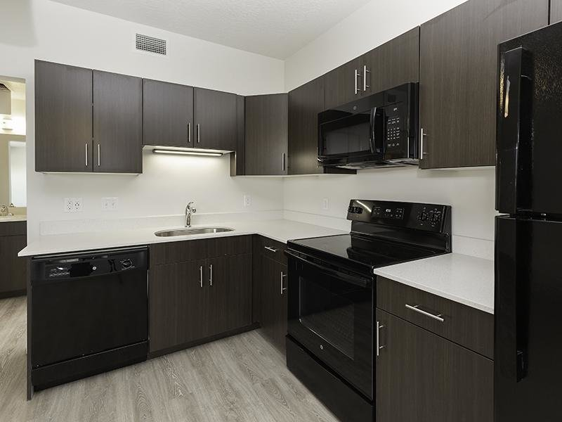 Studio Kitchen | Paxton 365 Apartments