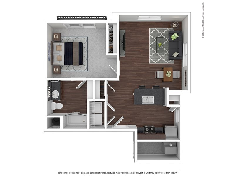 Our G is a 1 Bedroom, 1 Bathroom Apartment