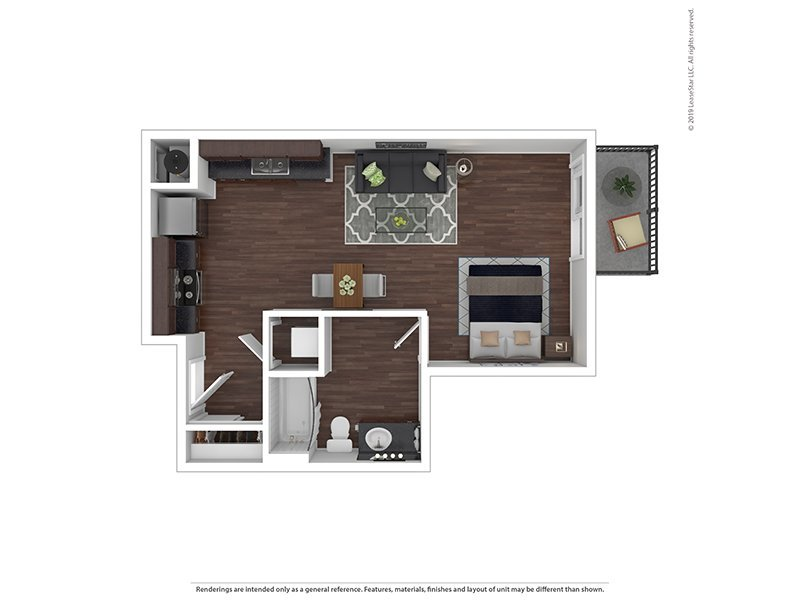 Our Studio K is a Studio, 0 Bathroom Apartment