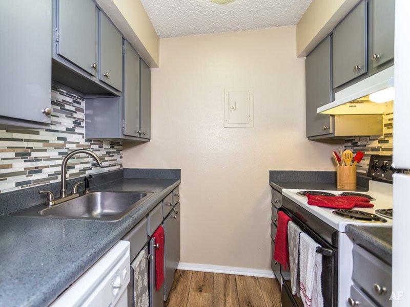 Kitchen | Postmark at Littleton Apartments in Littleton, CO