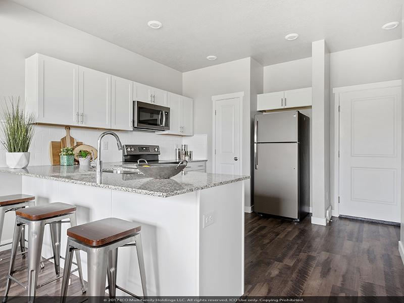 Fully Equipped Kitchen | Parkview Towns