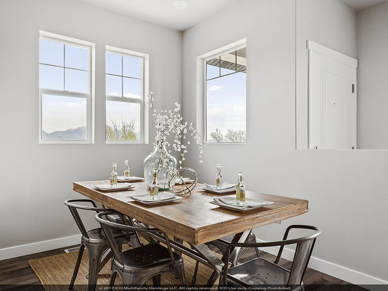 Dining Area | Parkview Towns