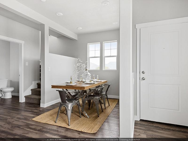 Dining Room  | Parkview Towns
