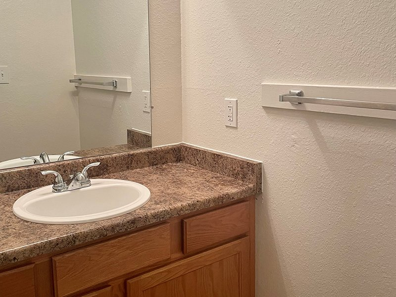 Bathroom Sink   The Reserve at Water Tower Village Apartments in Arvada, CO
