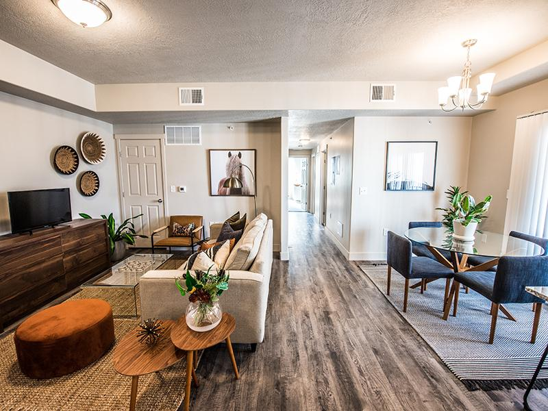 Living Room & Dining Room | Springs at Copper Canyon in Tooele, UT
