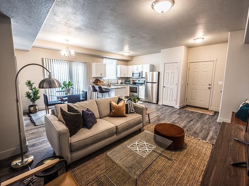 Living Room | Springs at Copper Canyon in Tooele, UT