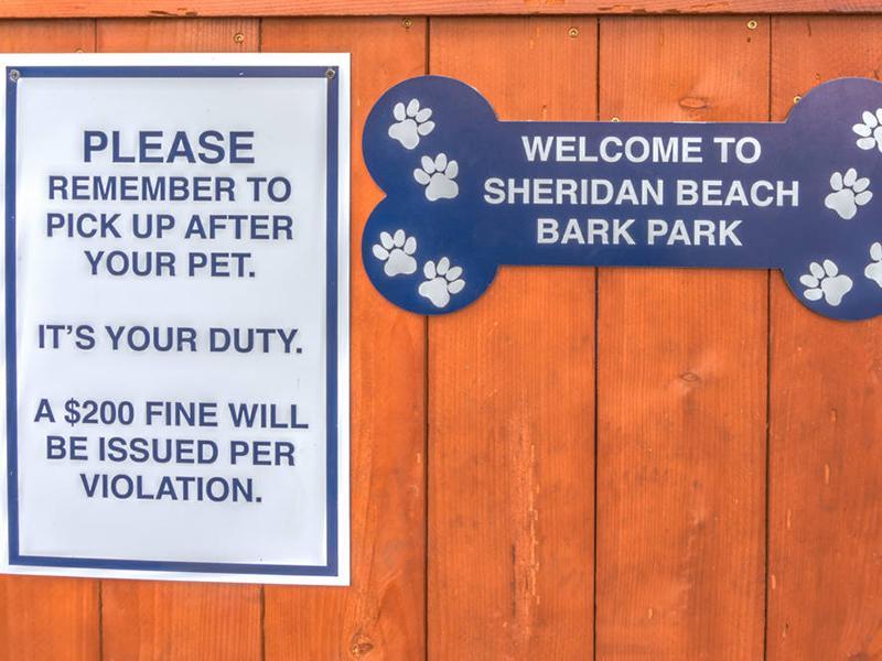 Bark Park | Sheridan Beach Terrace