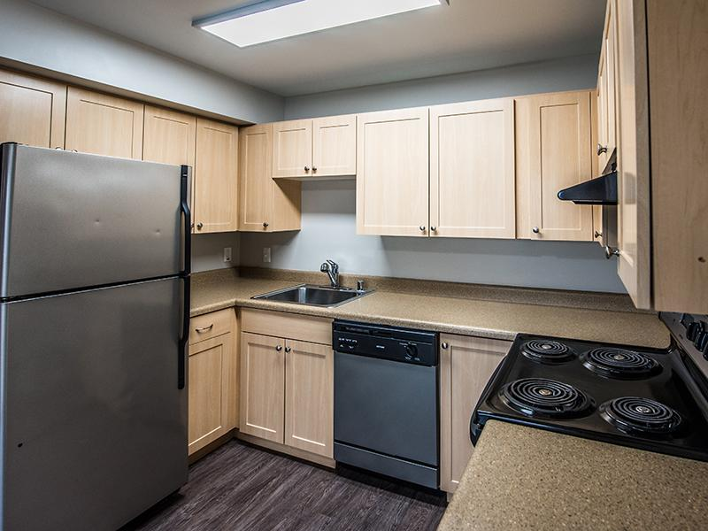 Apartment Kitchen | Sheridan Beach Terrace Lake Forest Park Apartments