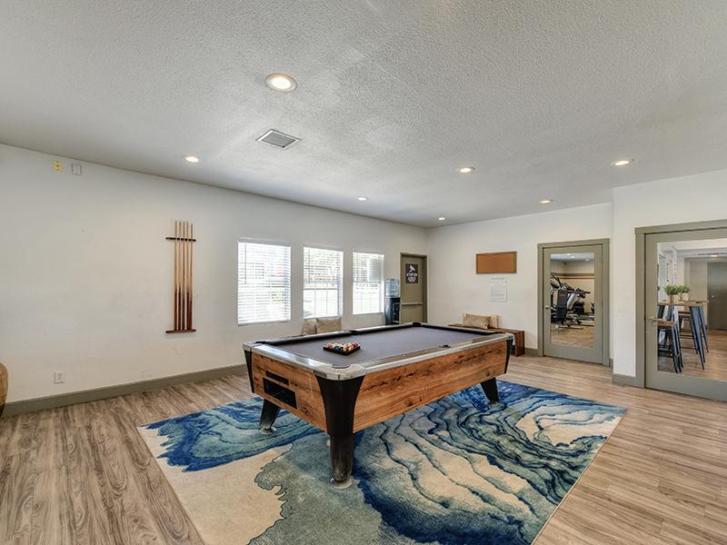 Pool Table | Sierra Park Townhomes