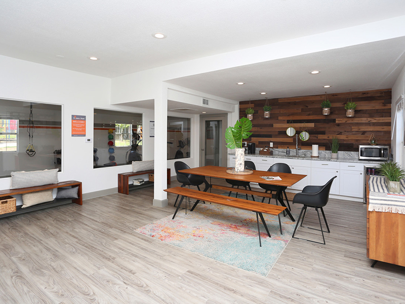 Clubhouse Interior | Sierra Park Townhomes