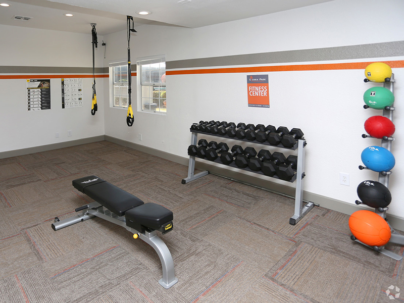 Gym | Sierra Park Townhomes