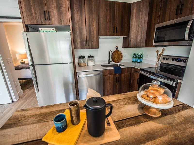 Fully Equipped Kitchen | Stratton Apartments in Salt Lake City, UT