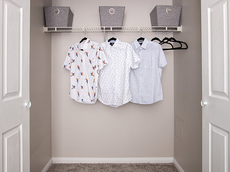 Closet Space | High Rock 5300 Apartments in Sparks, NV