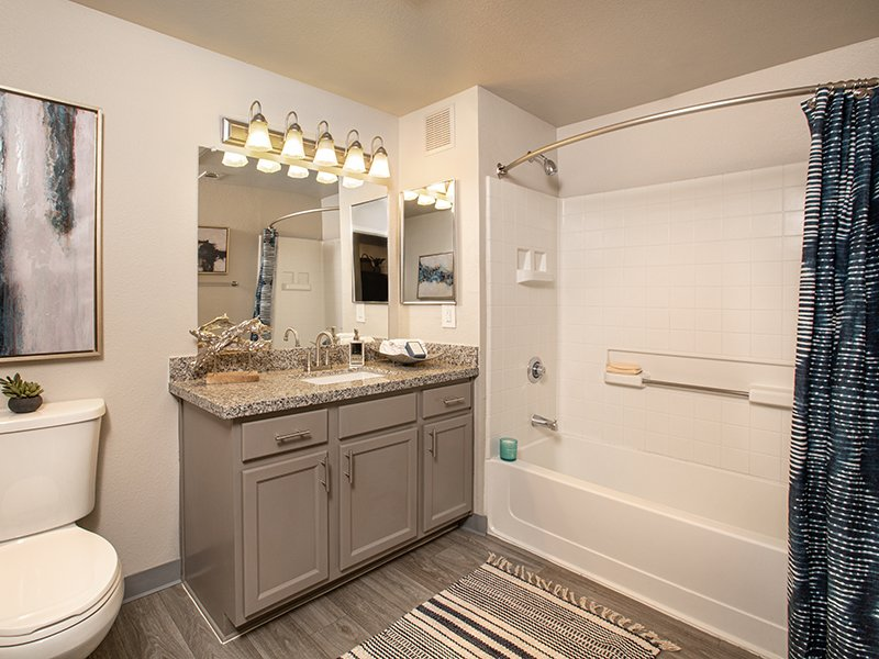 Bathroom | High Rock 5300 Apartments in Sparks, NV