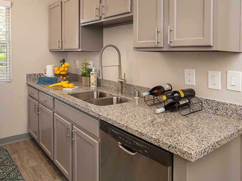 Kitchen Counters | High Rock 5300 Apartments in Sparks, NV