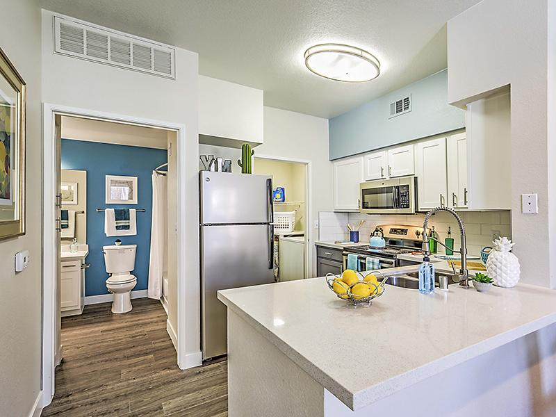 Apartment Kitchen | Palms at Peccole Ranch Apartments in Las Vegas NV