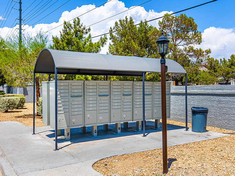 Mail Boxes | Palms at Peccole Ranch Apartments in Las Vegas, NV