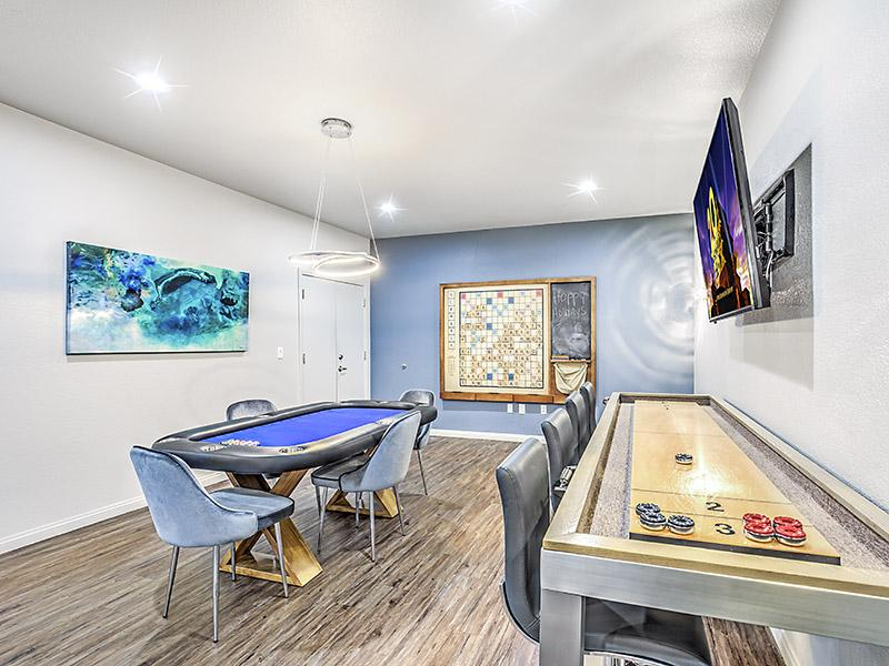 Clubhouse Game Room |  Palms at Peccole Ranch in Las Vegas NV