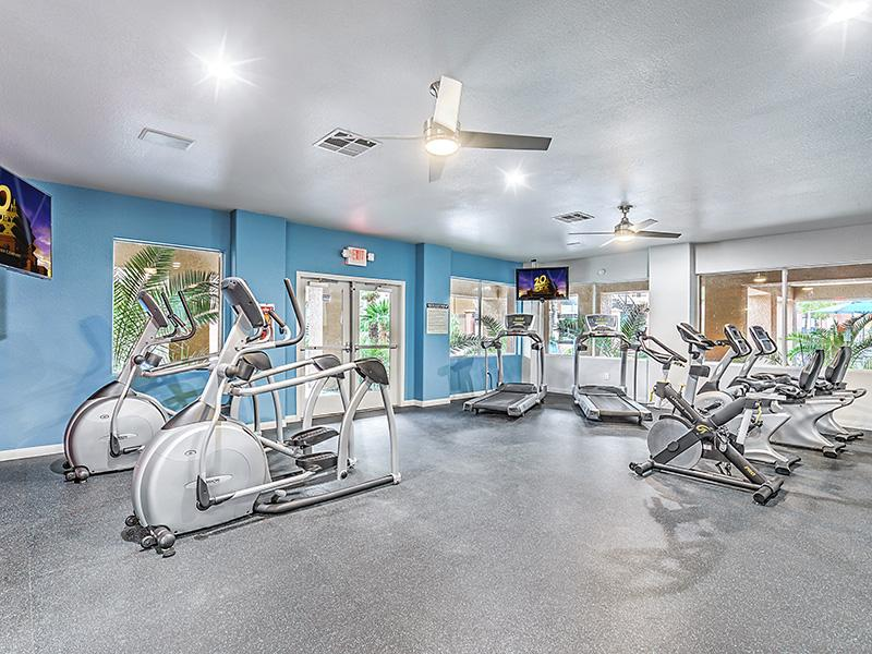 Community Gym | Palms at Peccole Ranch 89117 Apartments