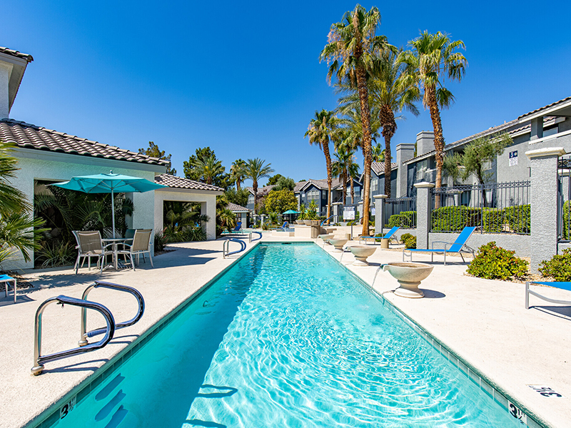 Pool | Palms at Peccole Ranch Apartments in Las Vegas, NV