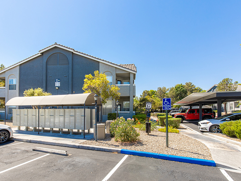 Mail | Palms at Peccole Ranch Apartments in Las Vegas, NV