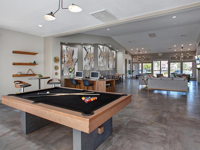Pool Table | Horizons at South Meadows