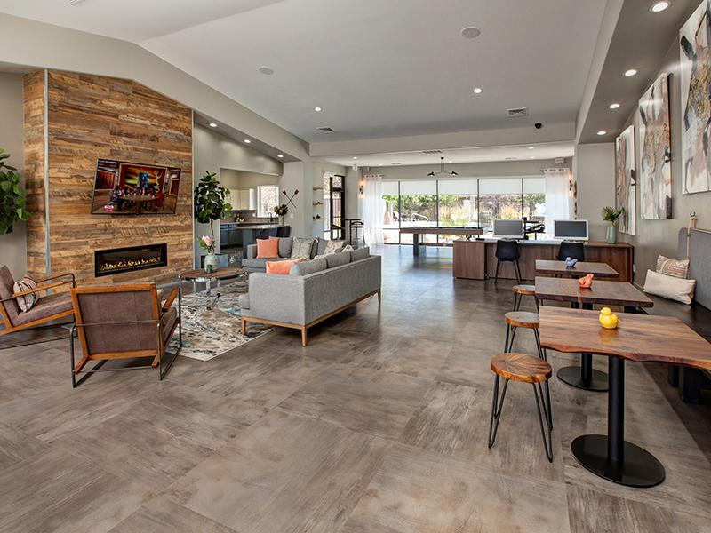 Club House Lobby | Horizons at South Meadows