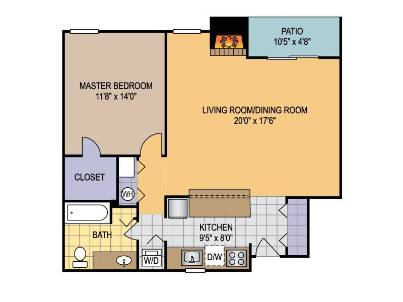 Floor Plans at La Privada Apartments