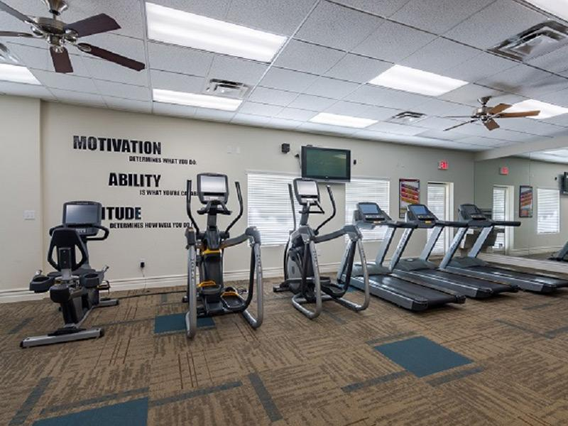 Indoor Gym for La Privada Apartments in Scottsdale
