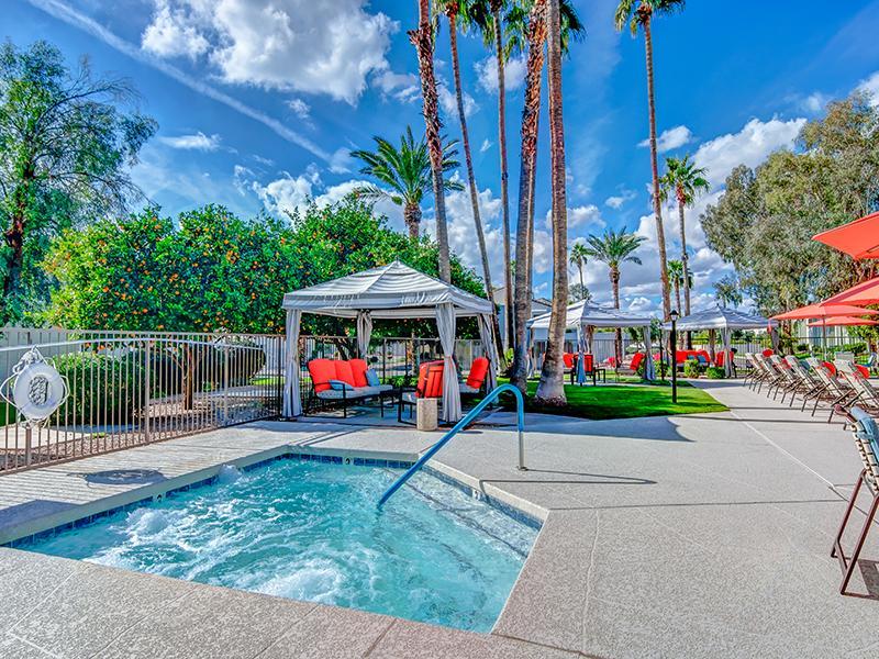 Poolside - La Privada - Scottsdale AZ apartment