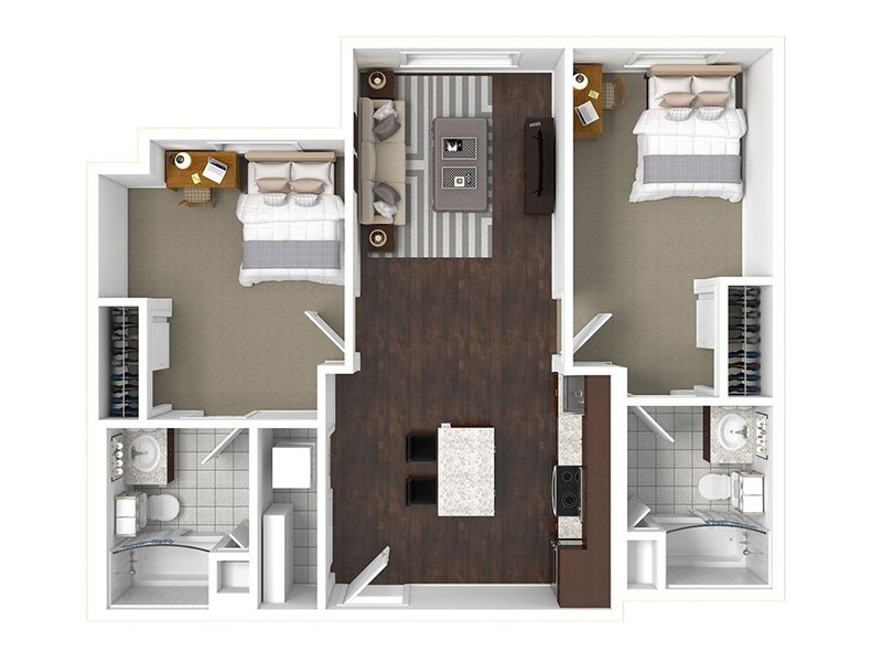 Floor Plans at The Cadence Apartments