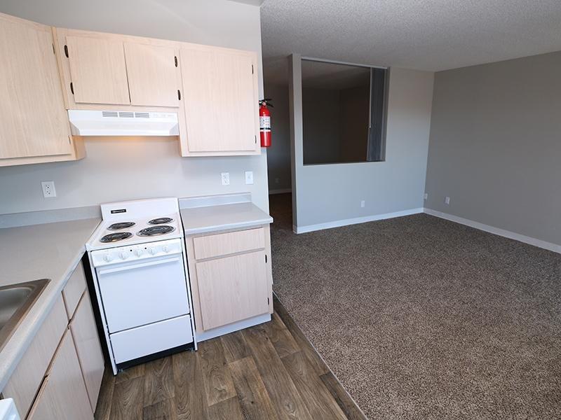 Kitchen | Dakota Canyon 87505 Apartments