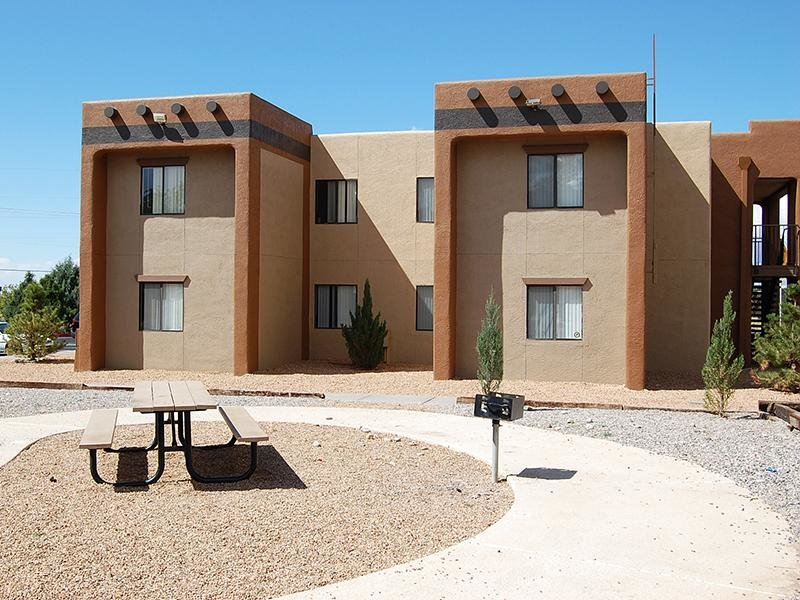 Exterior Building | Dakota Canyon Apartments in Santa Fe NM