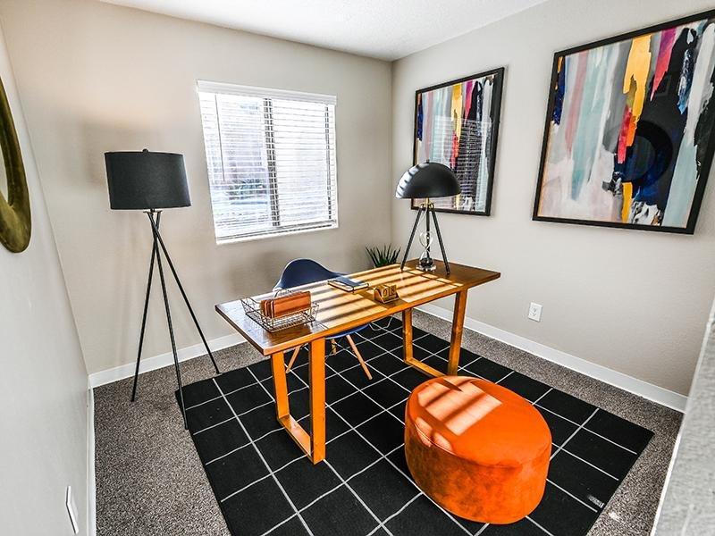Spare Room | Dakota Canyon 87505 Apartments