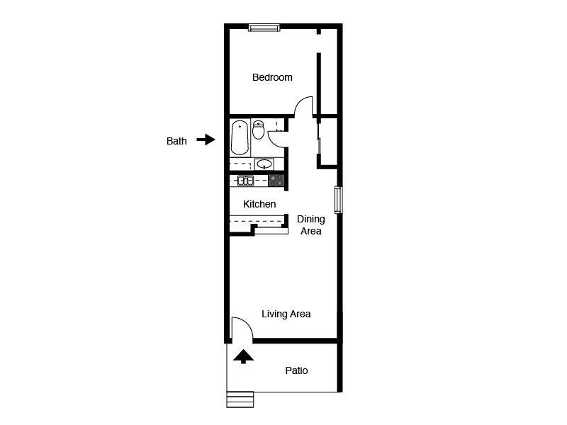 Floor Plans at Retreat at Candelaria Apartments