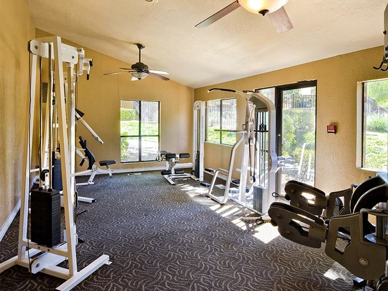 Fitness Center | Retreat at Candelaria