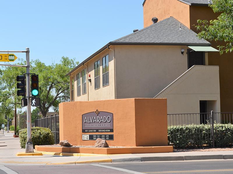 Monument Sign | Alvarado Apartments
